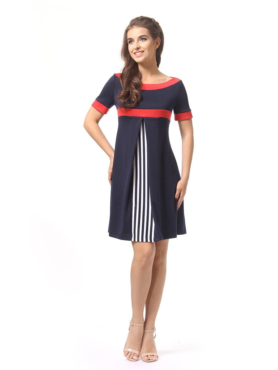 Платье темно-синее | 4264933 | фото 2
