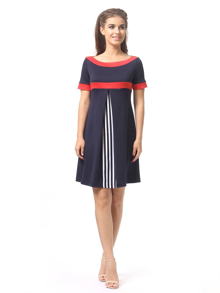 Платье темно-синее | 4264933 | фото 3
