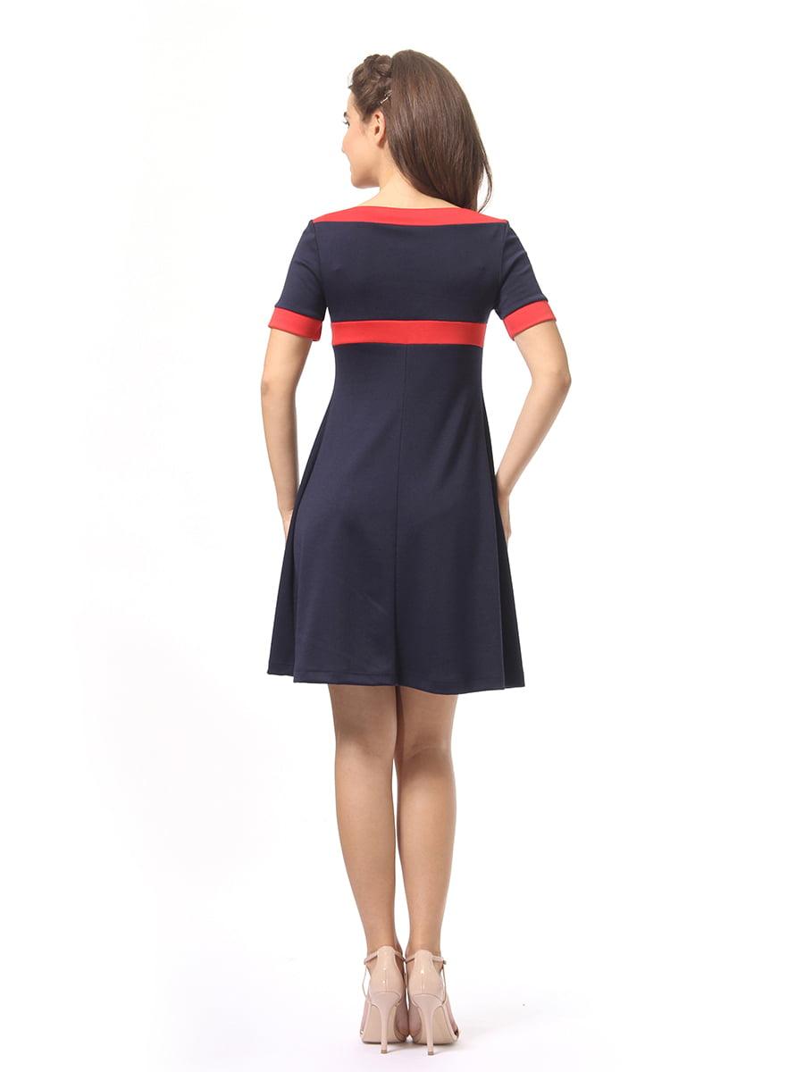 Платье темно-синее | 4264933 | фото 4
