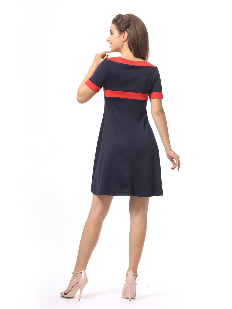 Платье темно-синее | 4264933 | фото 5