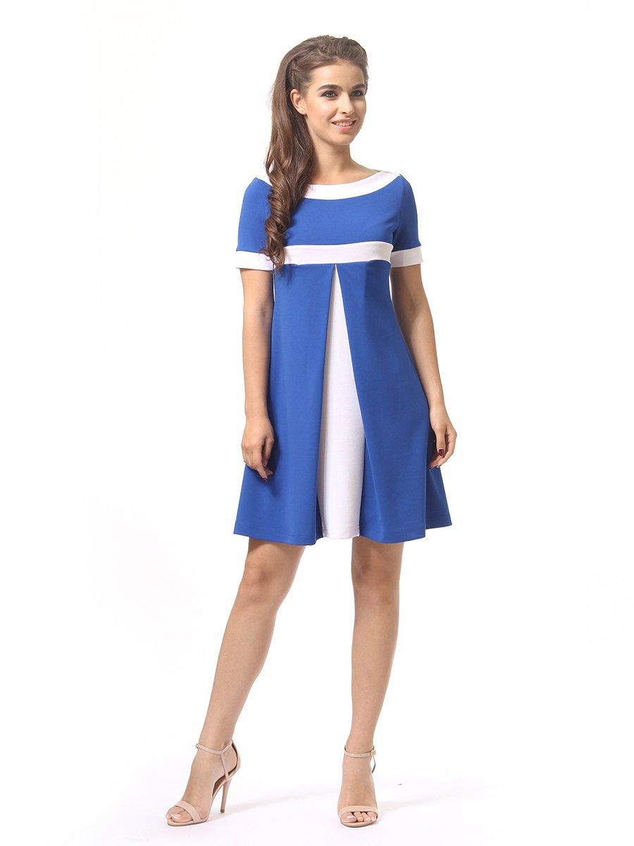 Платье цвета электрик | 4264935