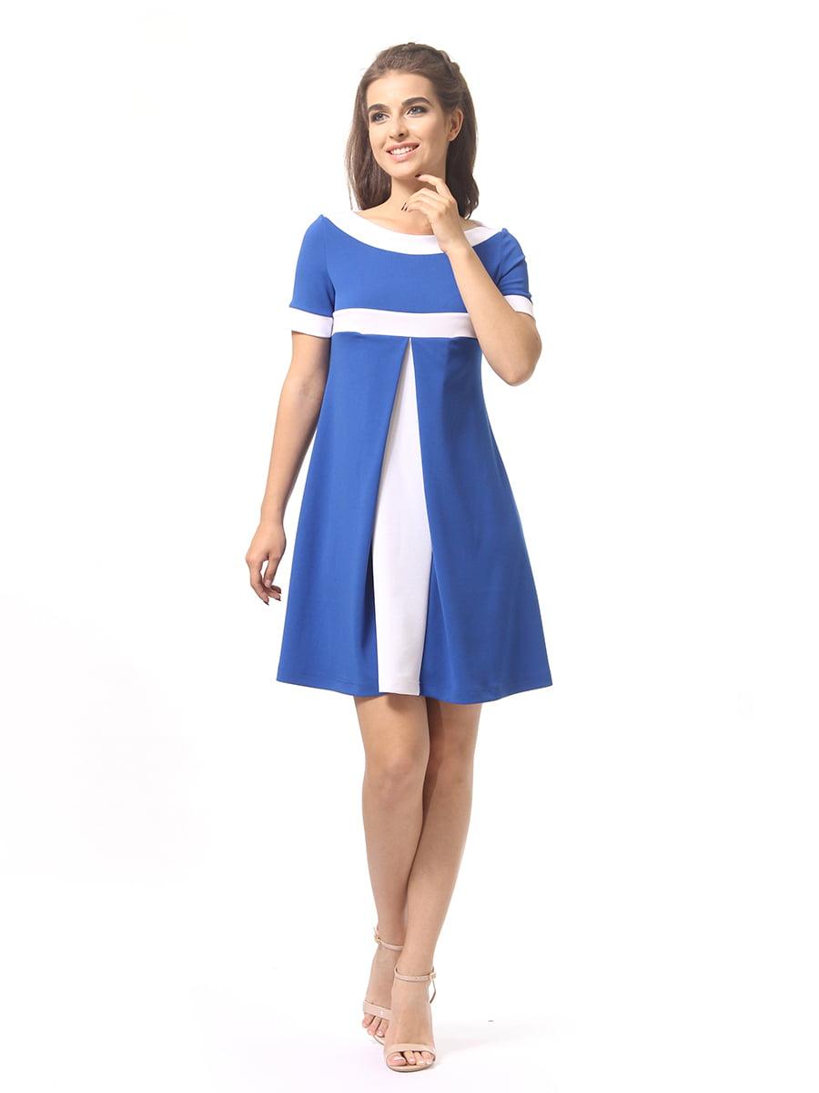Платье цвета электрик | 4264935 | фото 2
