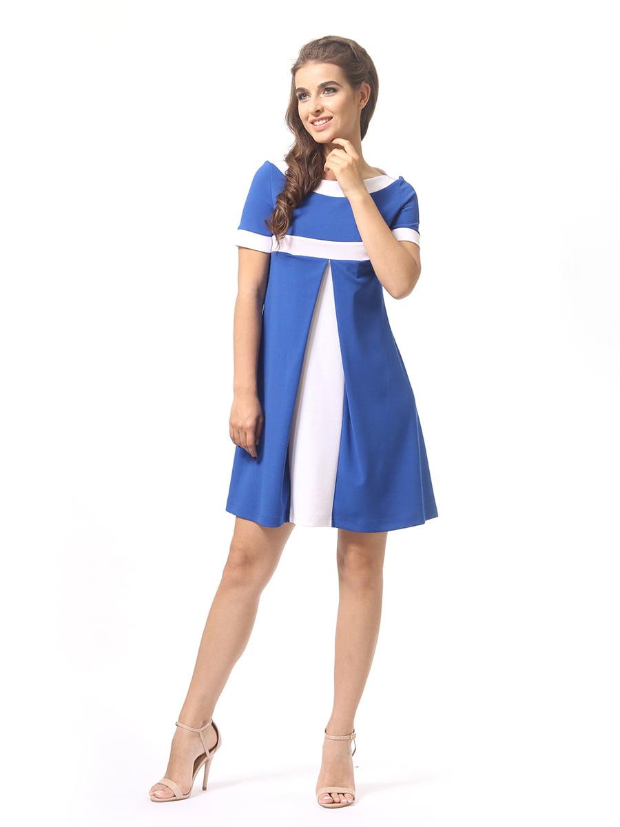 Платье цвета электрик | 4264935 | фото 4