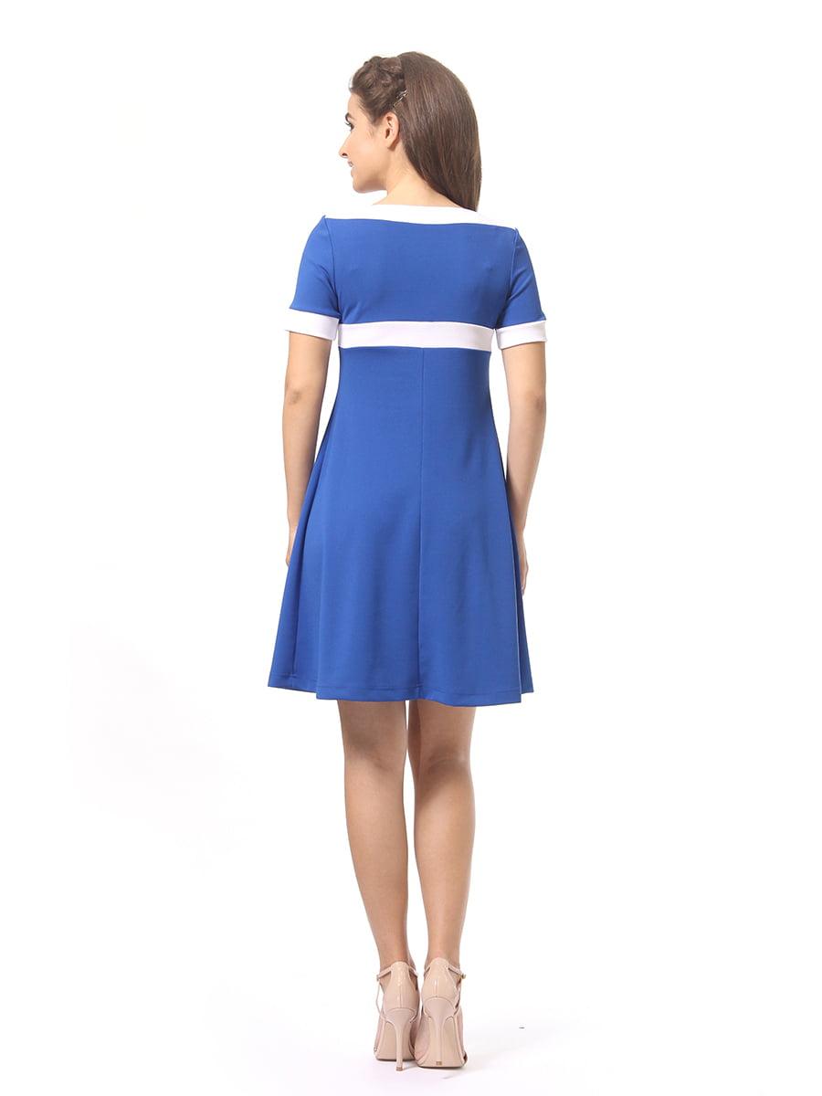 Платье цвета электрик | 4264935 | фото 5