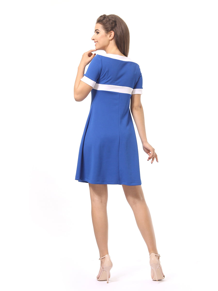 Платье цвета электрик | 4264935 | фото 6