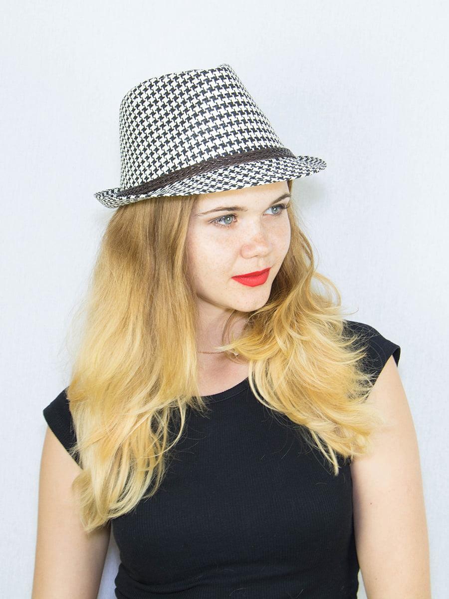 Шляпа в гусиную лапку | 4265557 | фото 2