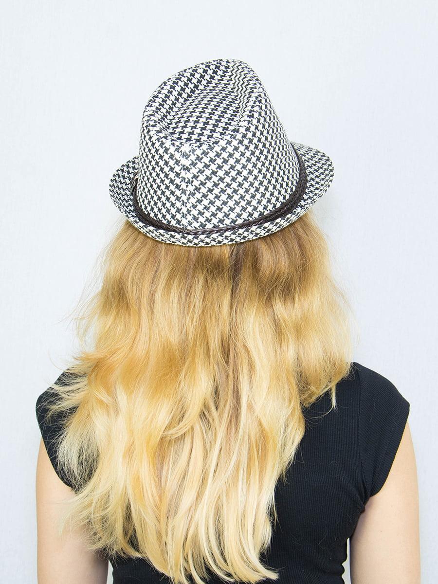 Шляпа в гусиную лапку | 4265557 | фото 3