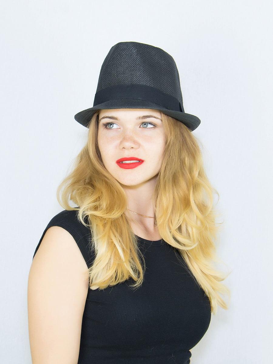 Шляпа черная | 4265593 | фото 2