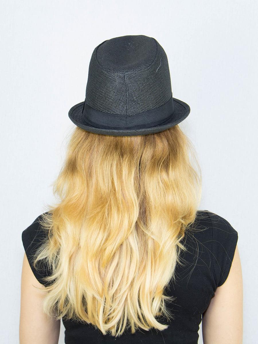 Шляпа черная | 4265593 | фото 3