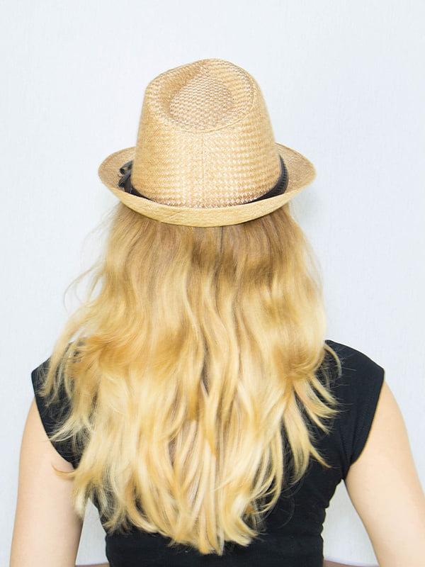 Шляпа бежевая | 4265595 | фото 3