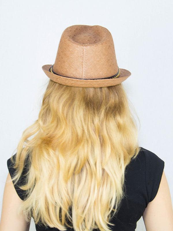 Шляпа коричневая   4265597   фото 3