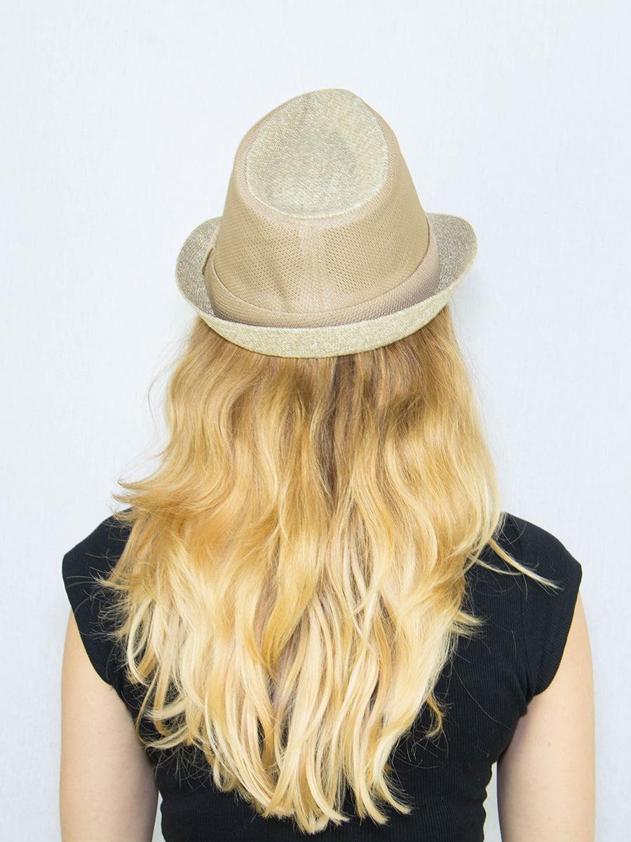Шляпа бежевая | 4265552 | фото 3