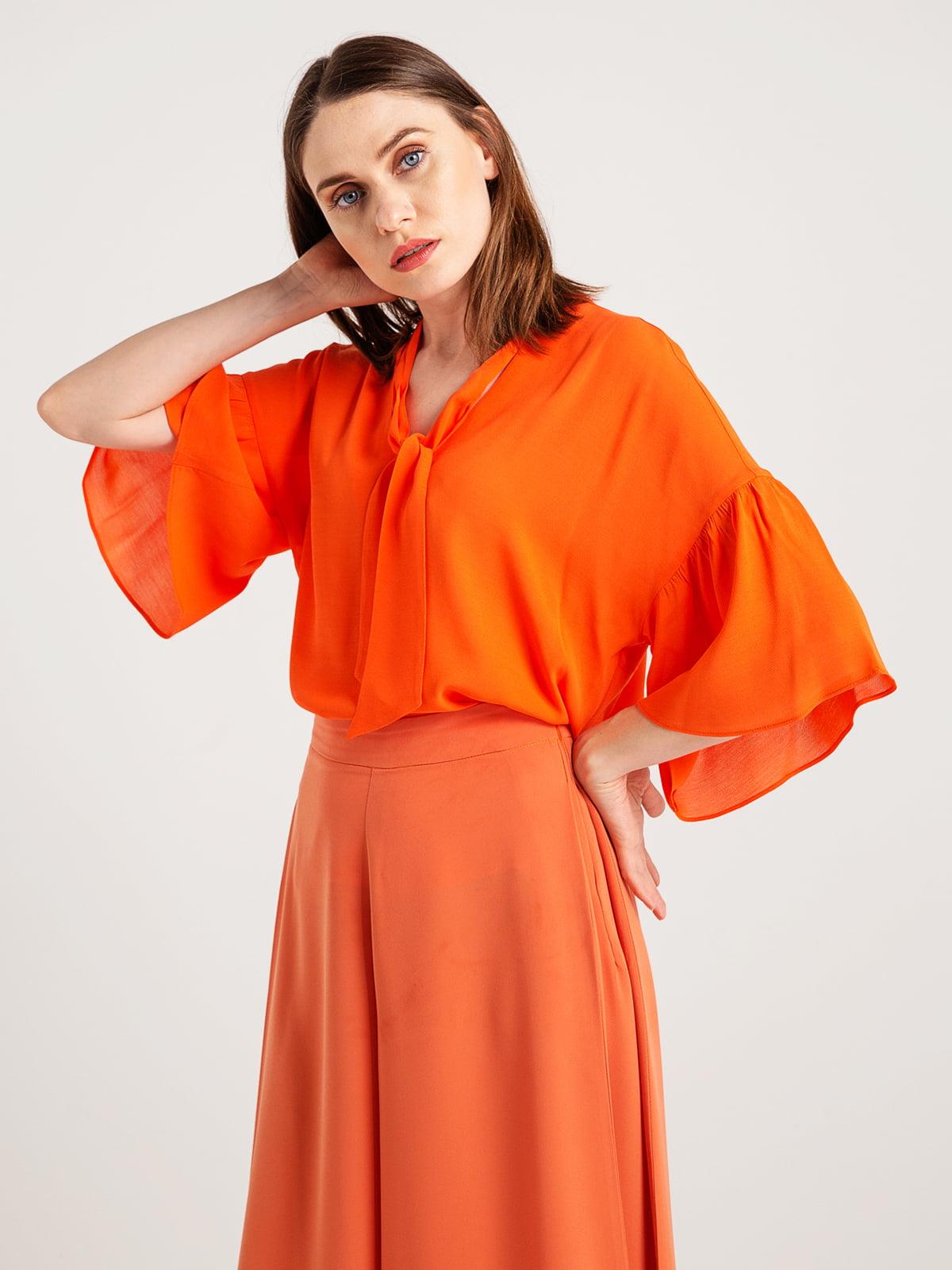 Блуза помаранчева   4265378