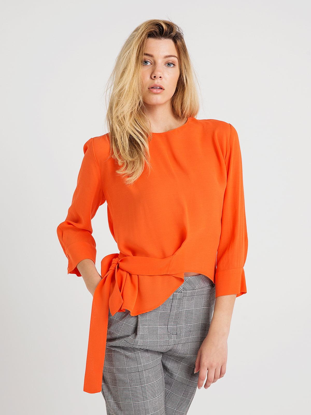 Блуза помаранчева | 4265410