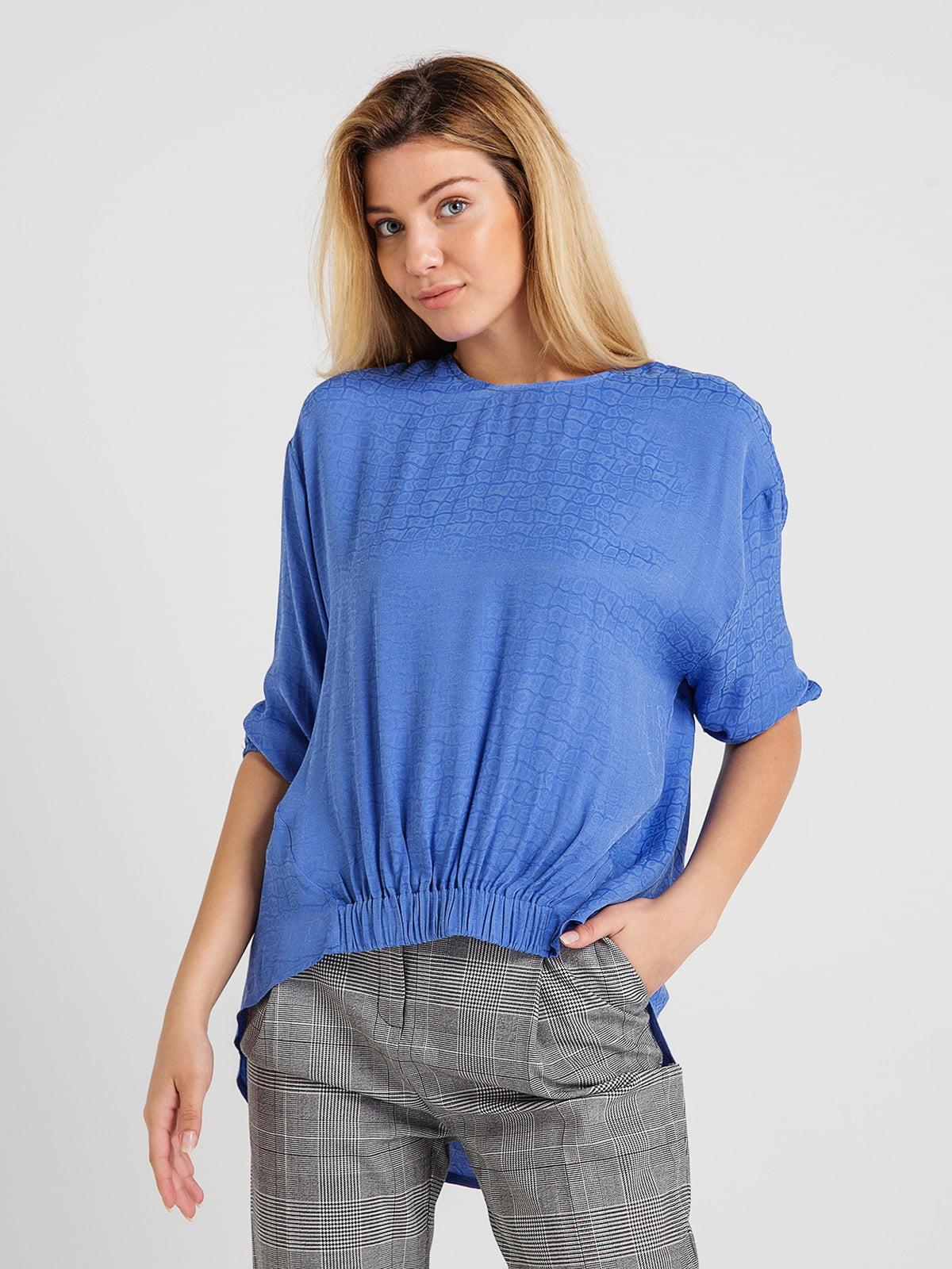 Блуза світло-синя | 4265422