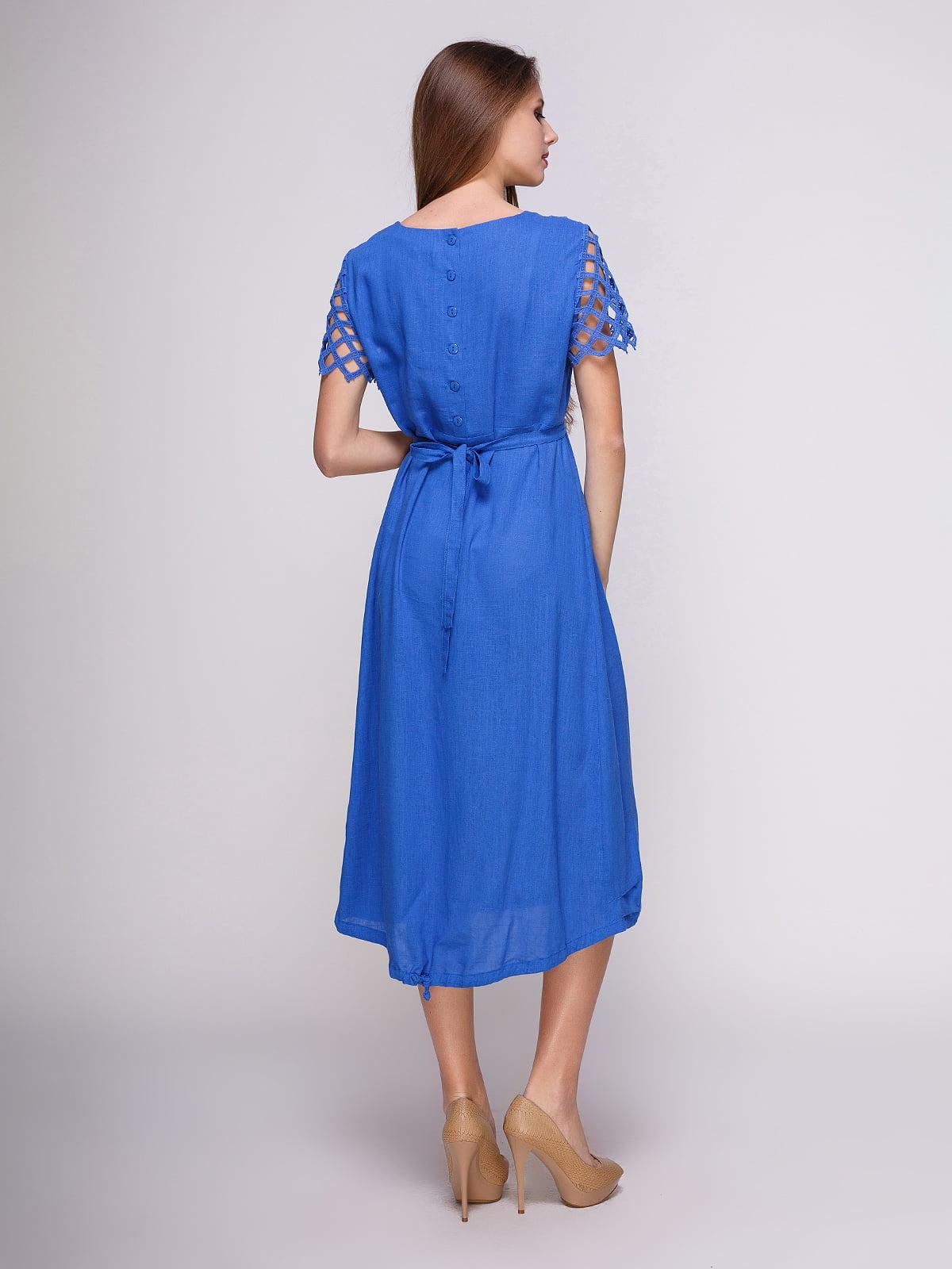 Сукня синя   4262396   фото 2