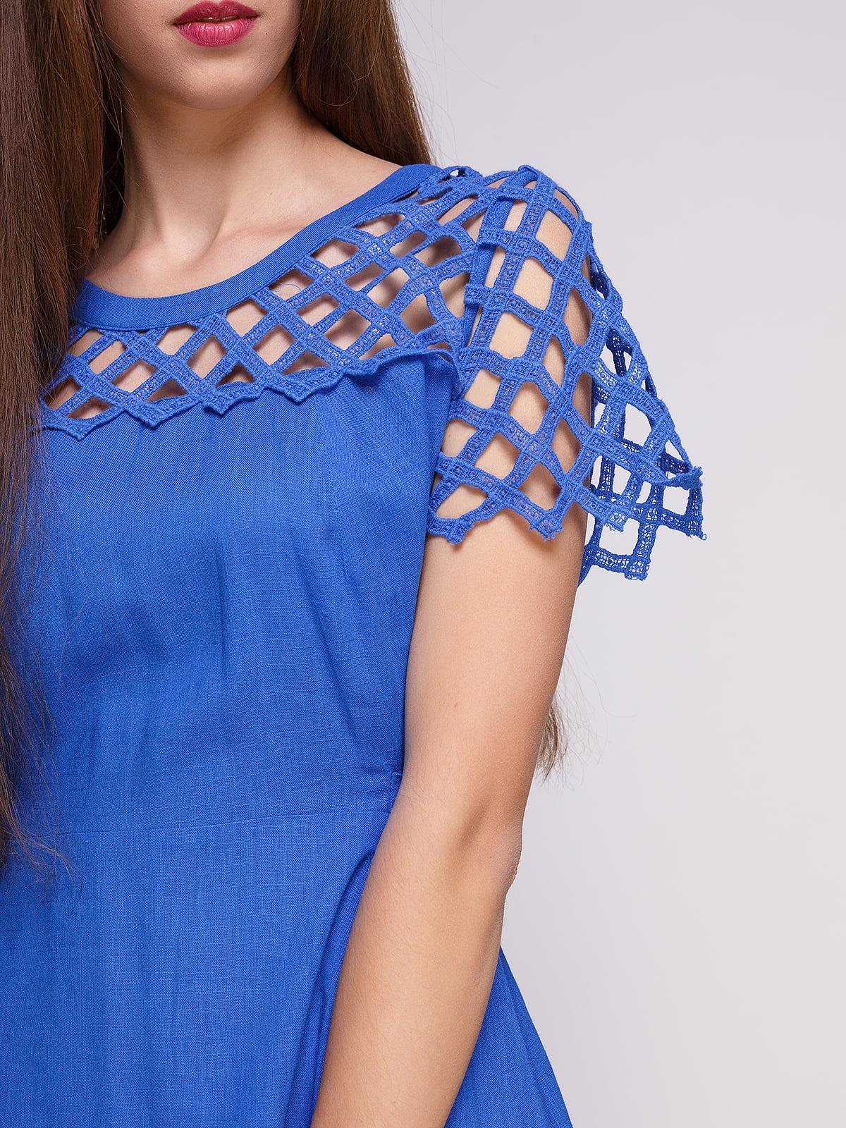 Сукня синя   4262396   фото 3