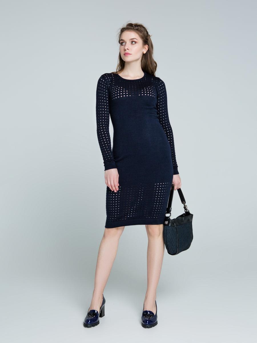 Сукня темно-синя | 4263705