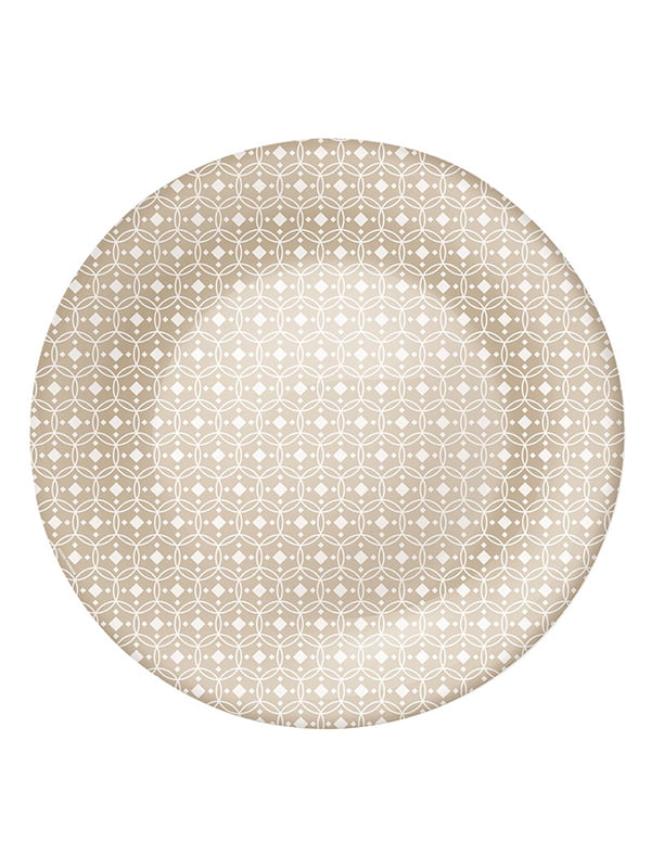 Тарілка (27 см) Ceramic beige | 4266442