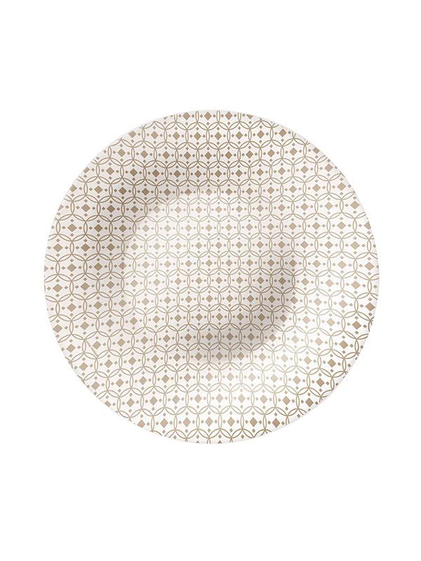 Тарілка глибока (23 см) Ceramic beige | 4266445