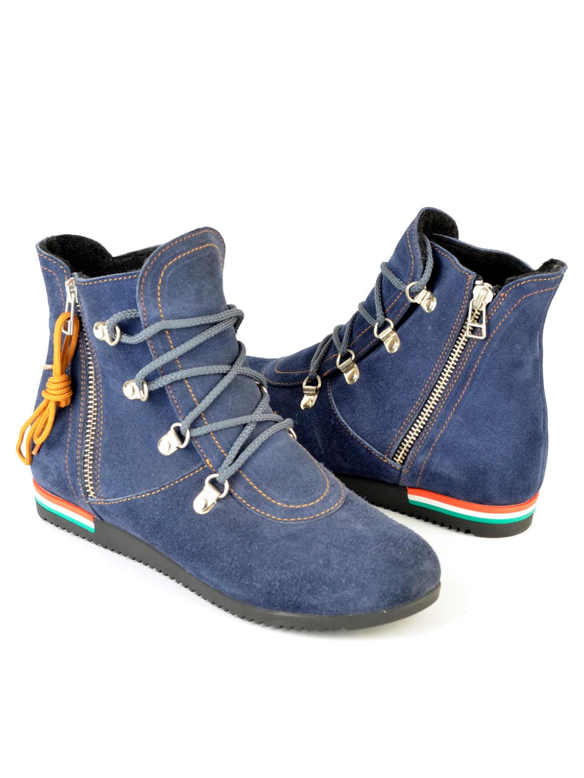 Ботинки синие | 4263997 | фото 2