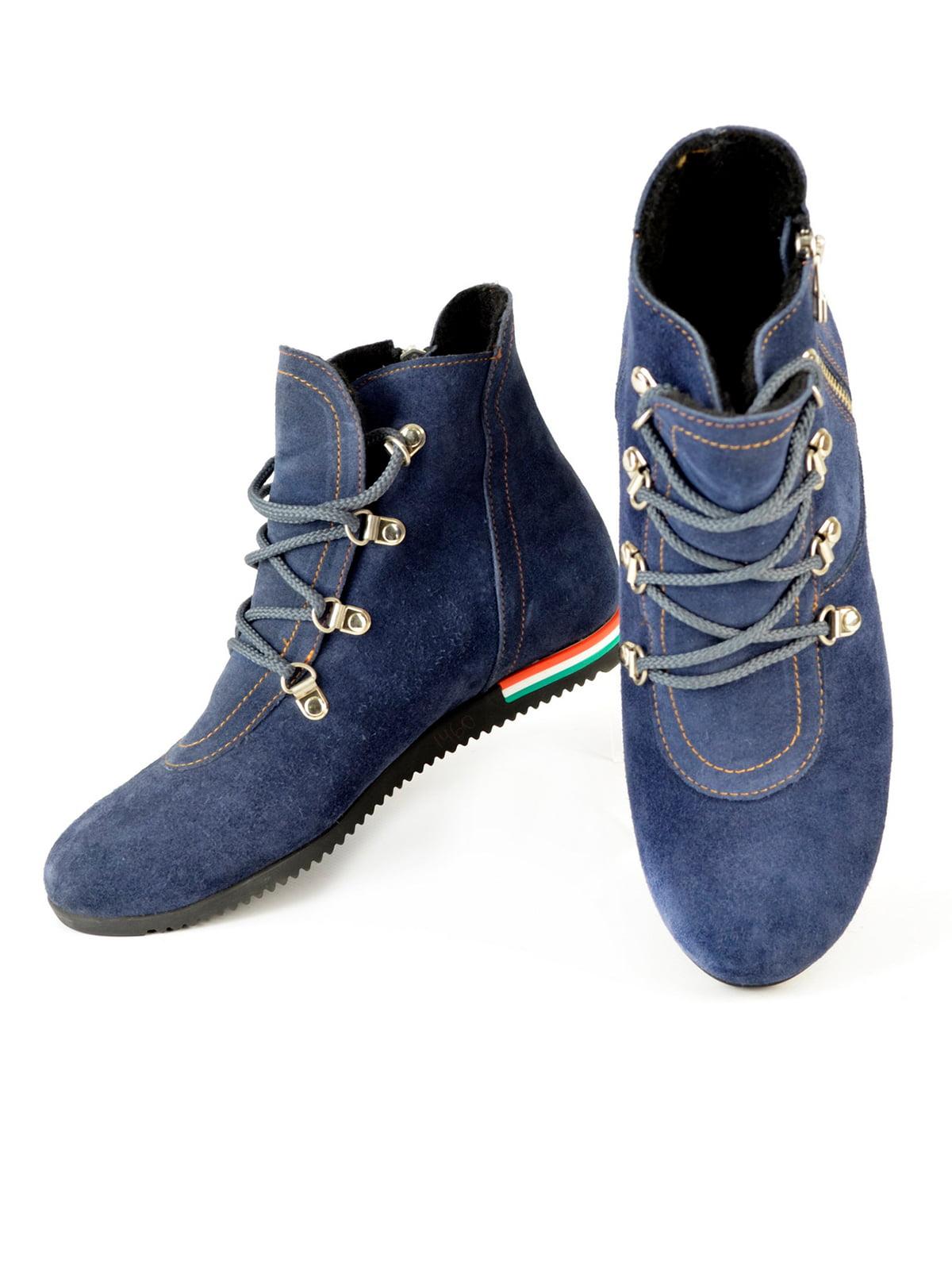 Ботинки синие | 4263997 | фото 3