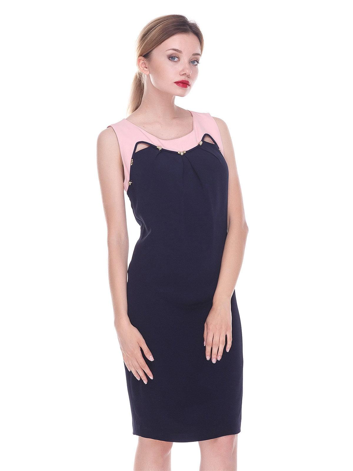 Платье темно-синие | 4252345