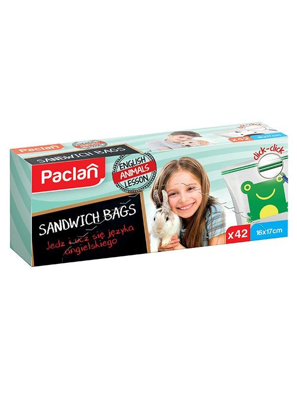 Пакеты для завтраков с замком (42 шт.)   4268707