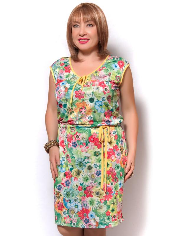 Платье зеленое | 4261706 | фото 2