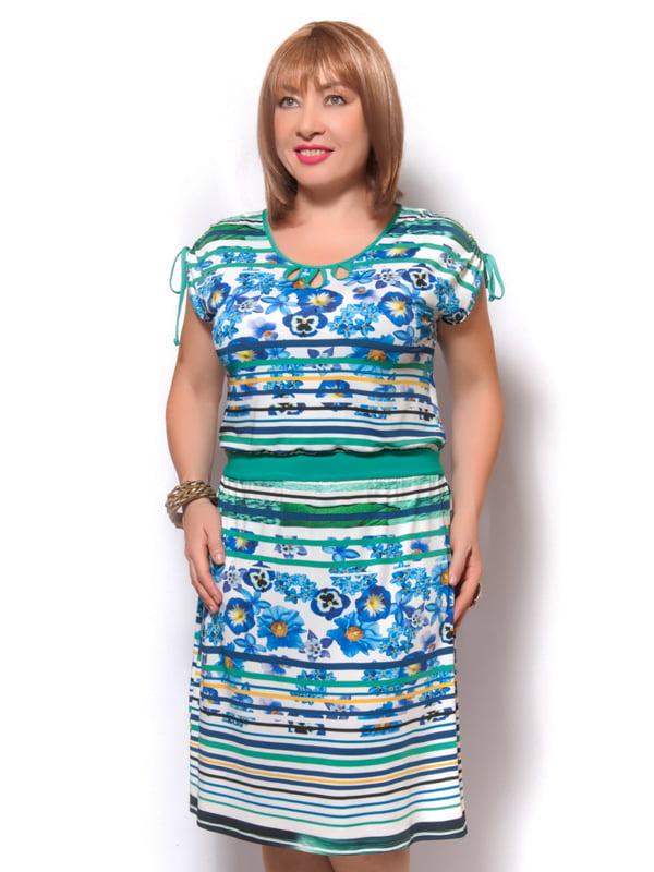 Сукня синя | 4261709 | фото 2