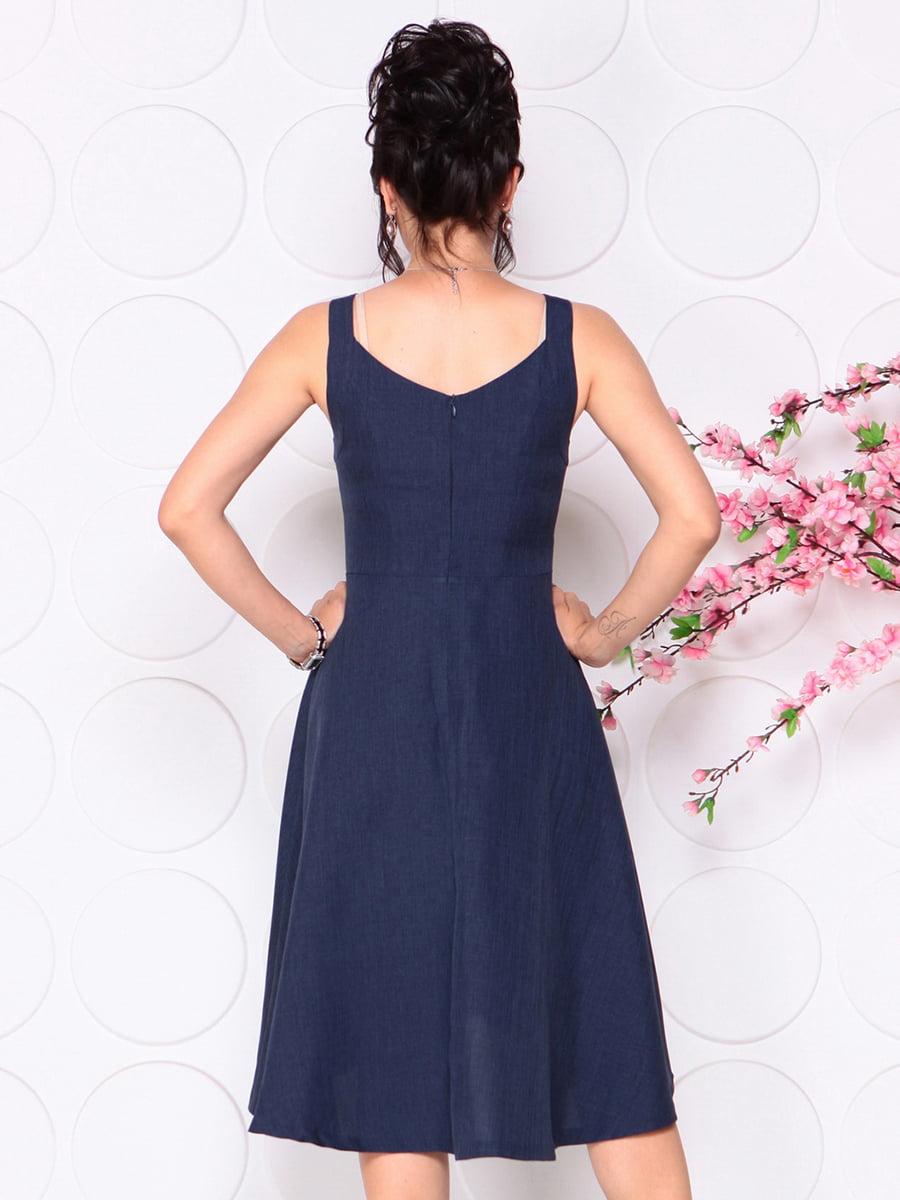 Платье темно-синее | 4279524 | фото 2