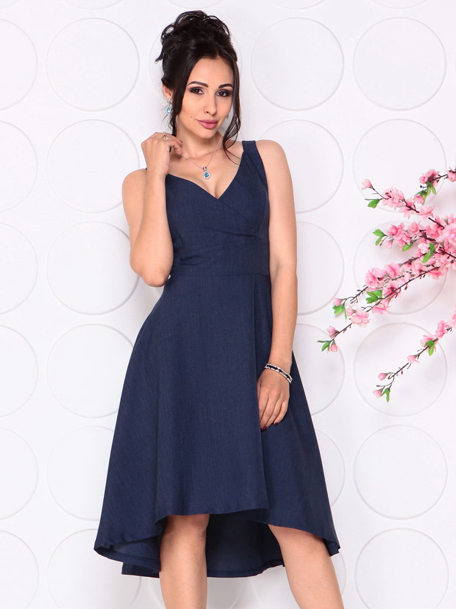 Платье темно-синее | 4279524 | фото 4