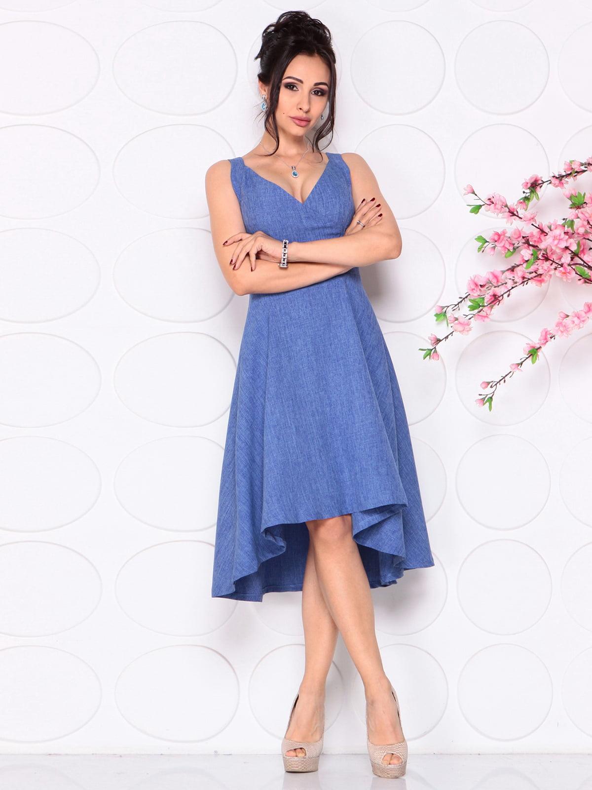 Сукня синя | 4279525