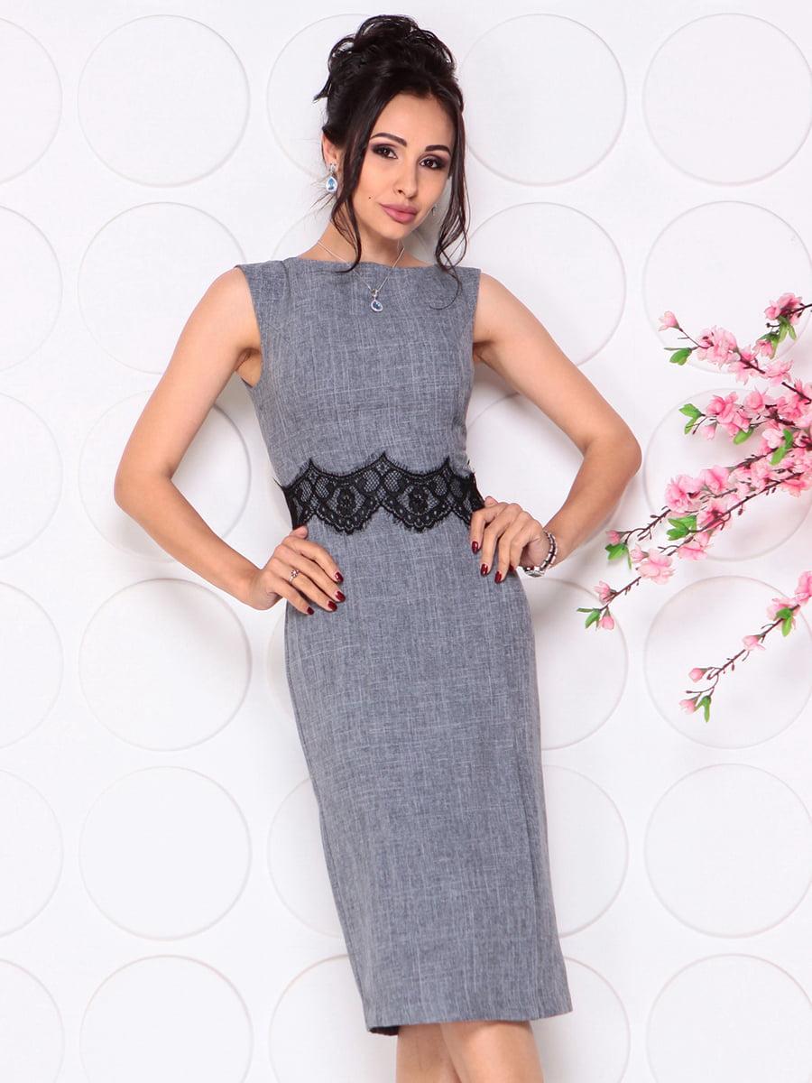 Платье дымчатого цвета   4279691