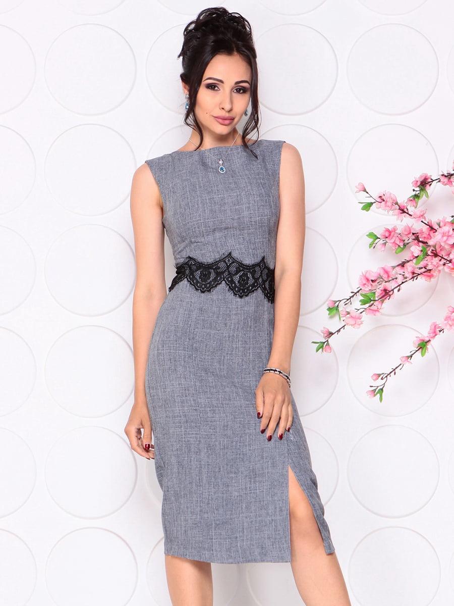 Платье дымчатого цвета   4279691   фото 3