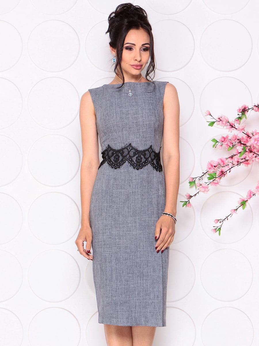 Платье дымчатого цвета   4279691   фото 4