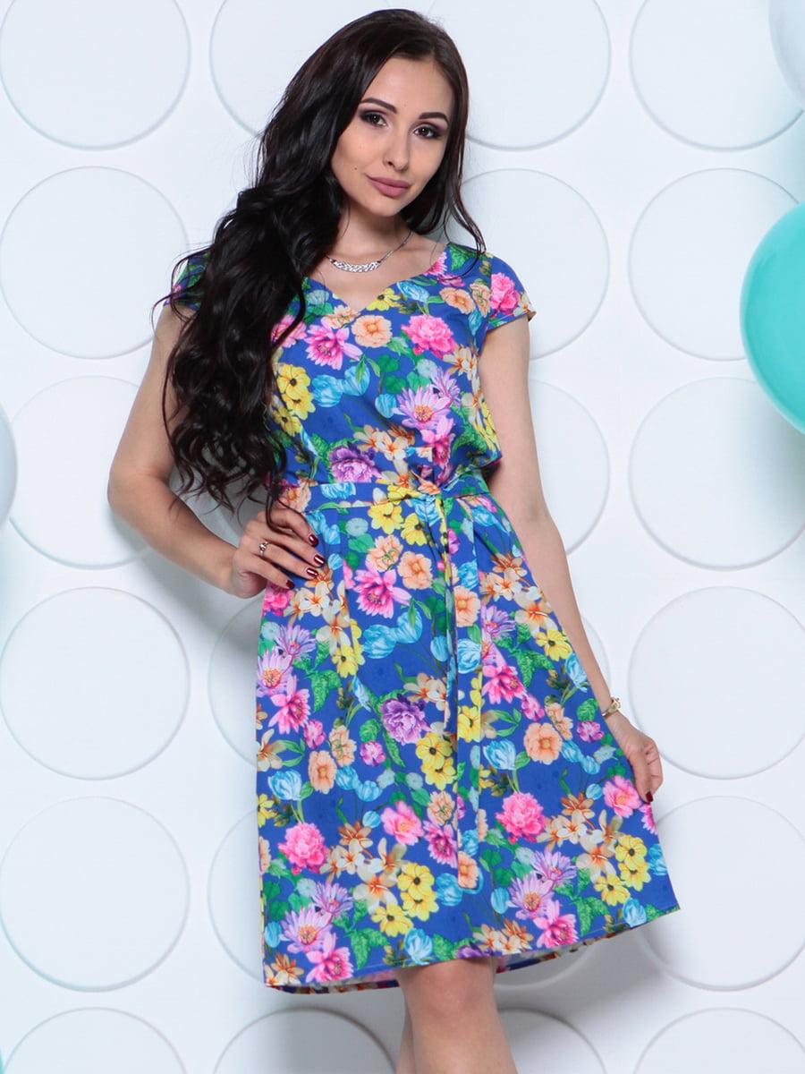 Сукня в квітковий принт | 4279716