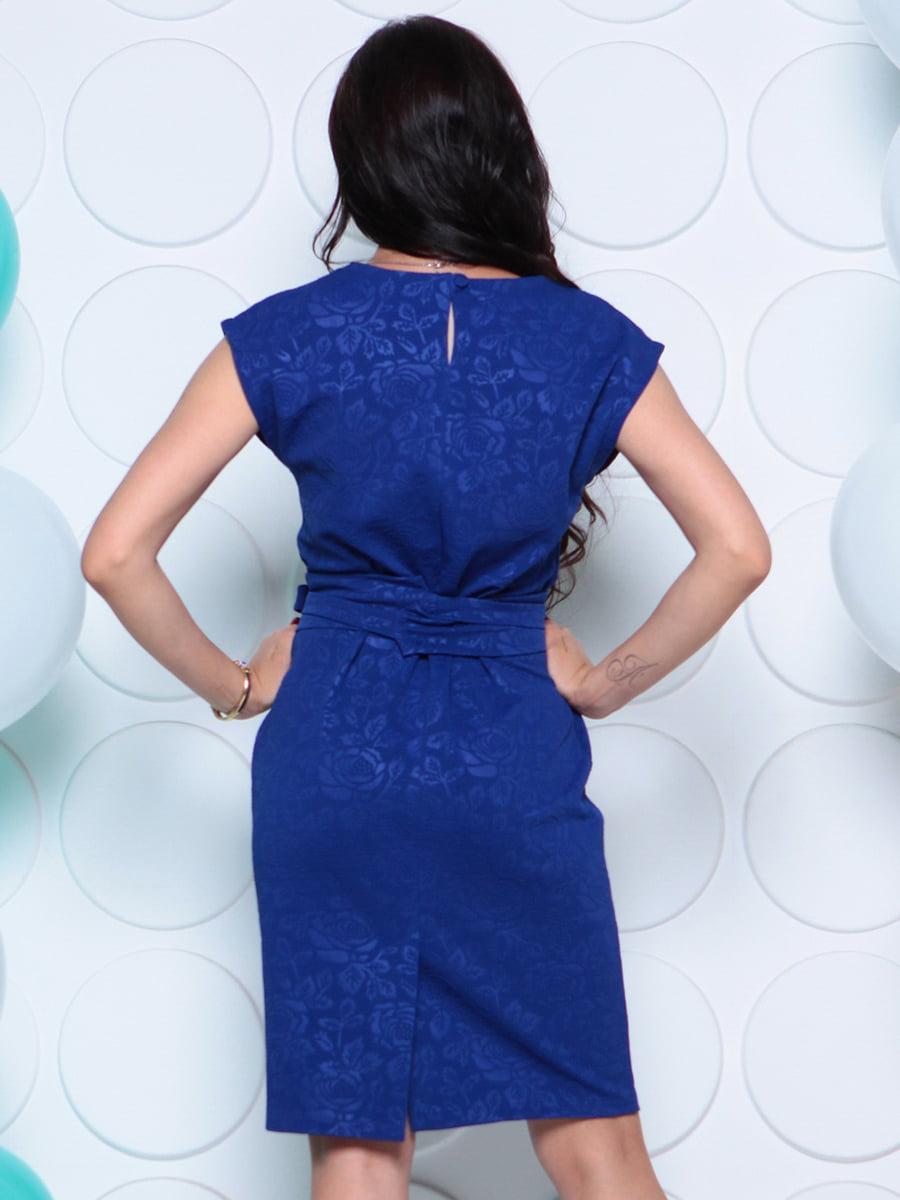 Платье цвета электрик | 4279724