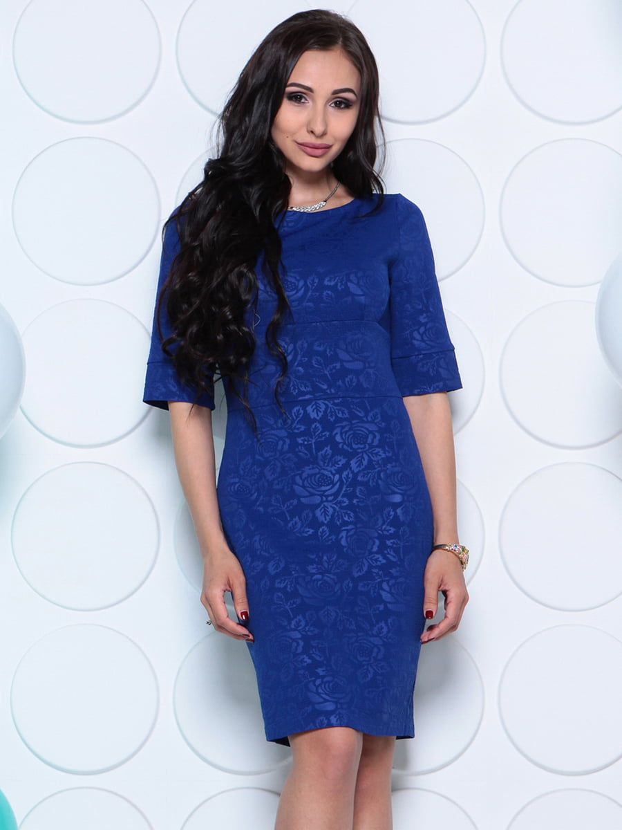 Платье цвета электрик   4279728   фото 3