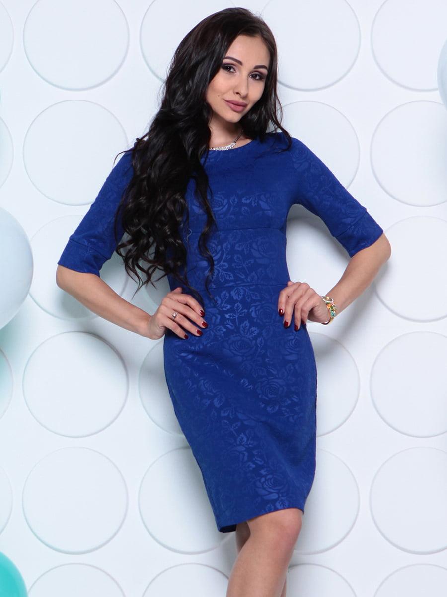 Платье цвета электрик   4279728   фото 4