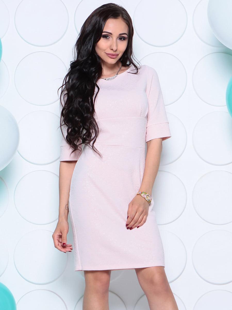 Платье бежевое | 4279729