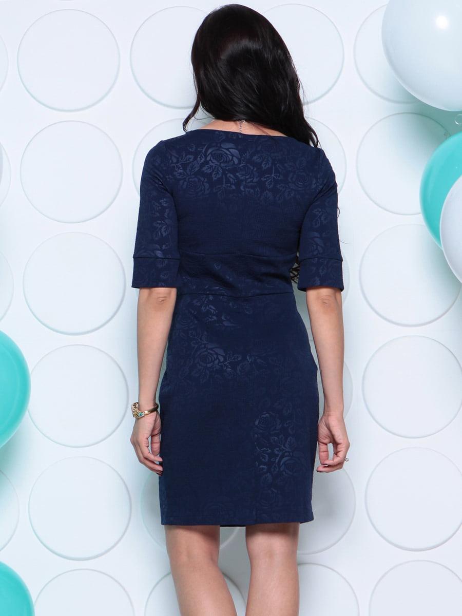 Платье темно-синее | 4279731 | фото 2