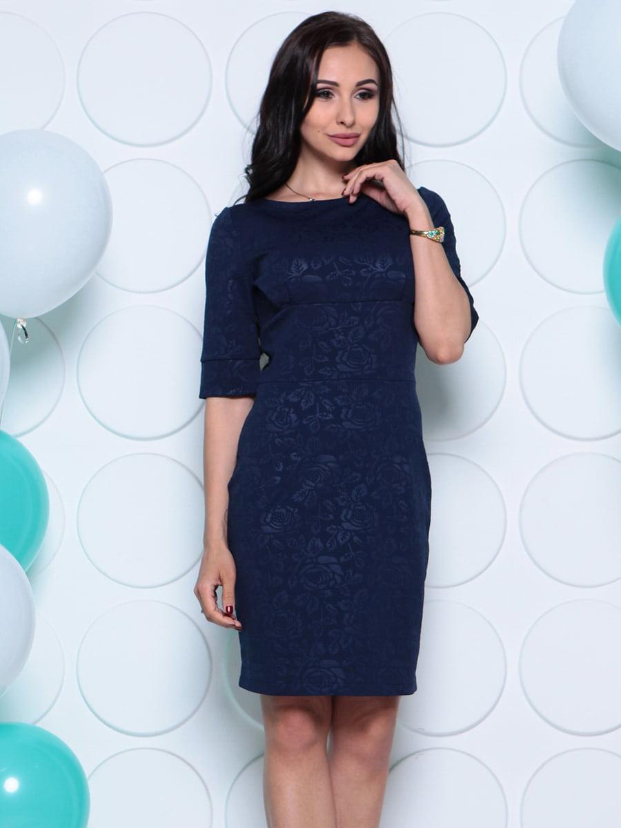 Платье темно-синее | 4279731 | фото 5