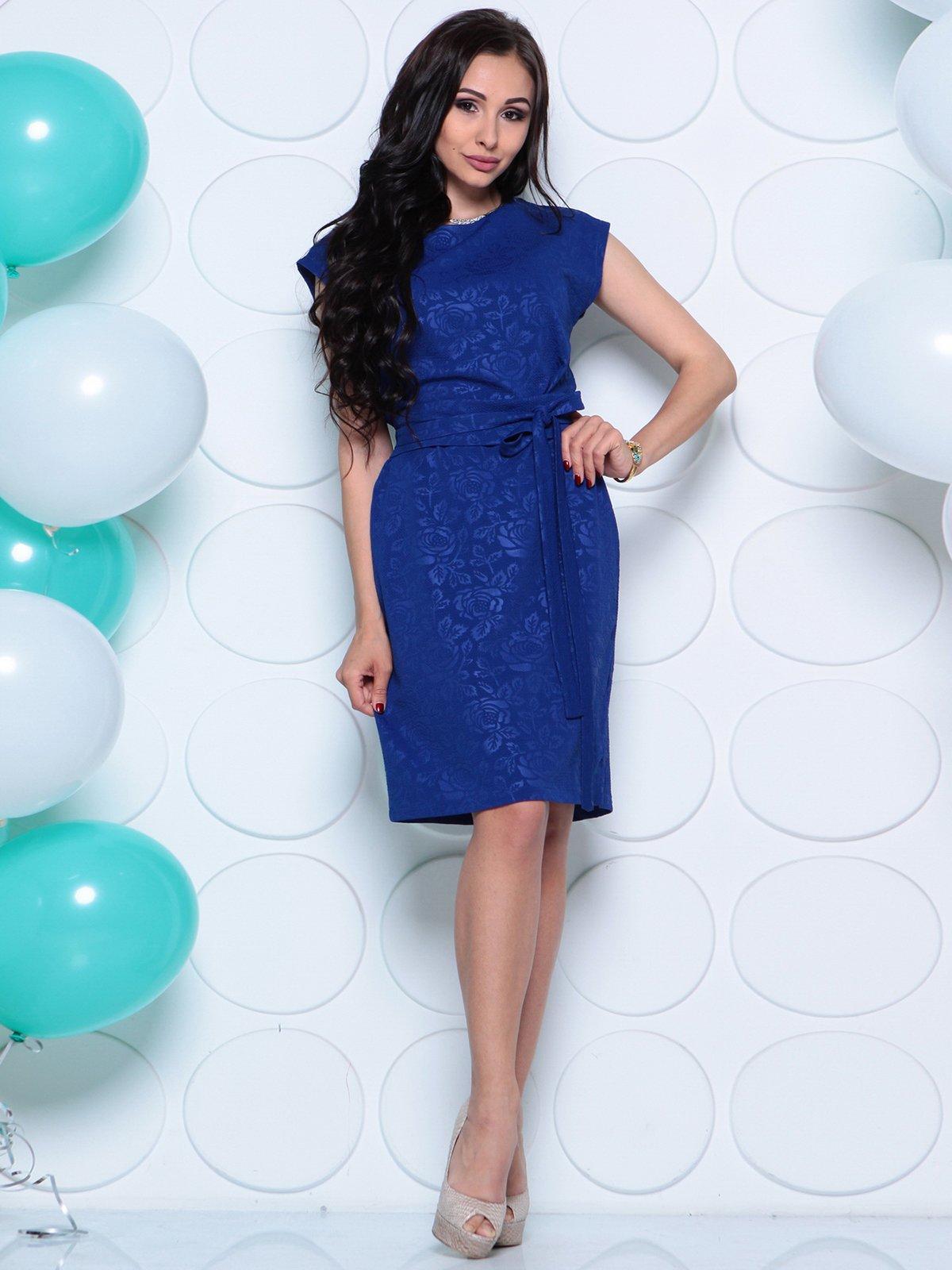 Платье цвета электрик | 4279724 | фото 4