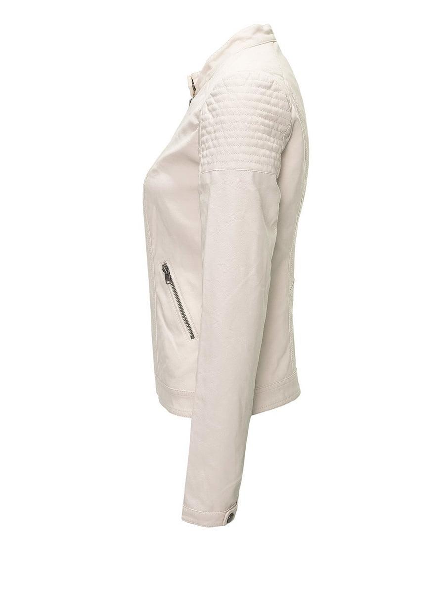 Куртка молочного цвета | 4276384 | фото 2