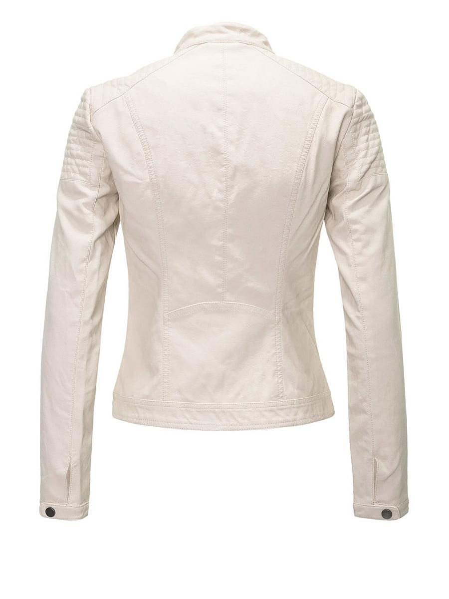 Куртка молочного цвета | 4276384 | фото 3