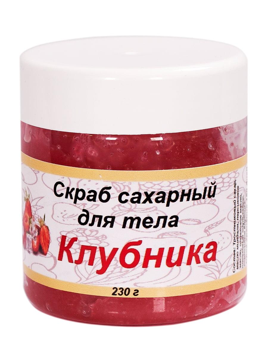 Скраб цукровий для тіла «Полуниця» (230 г) | 4255882