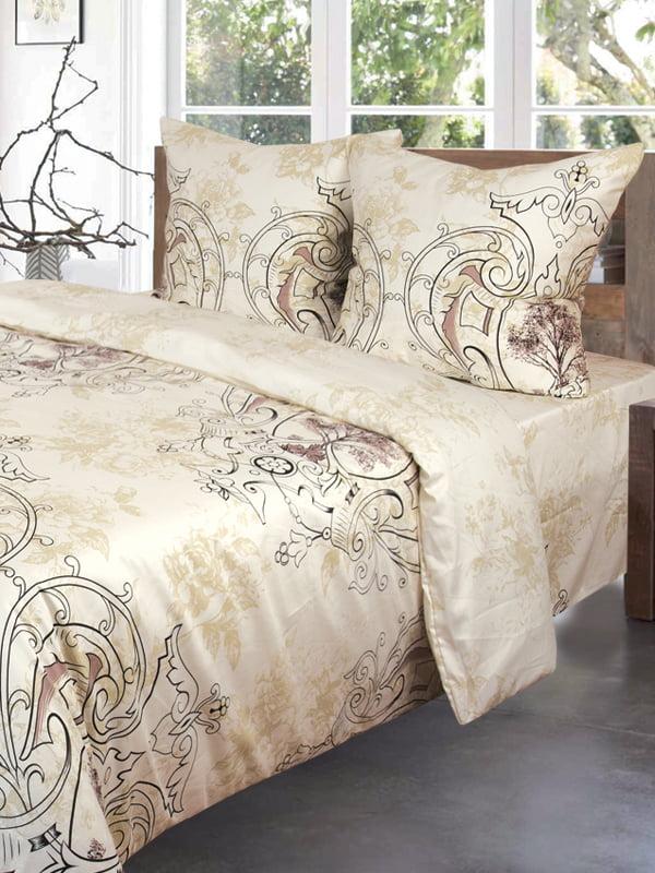 Комплект постельного белья двуспальный (евро) | 4283107
