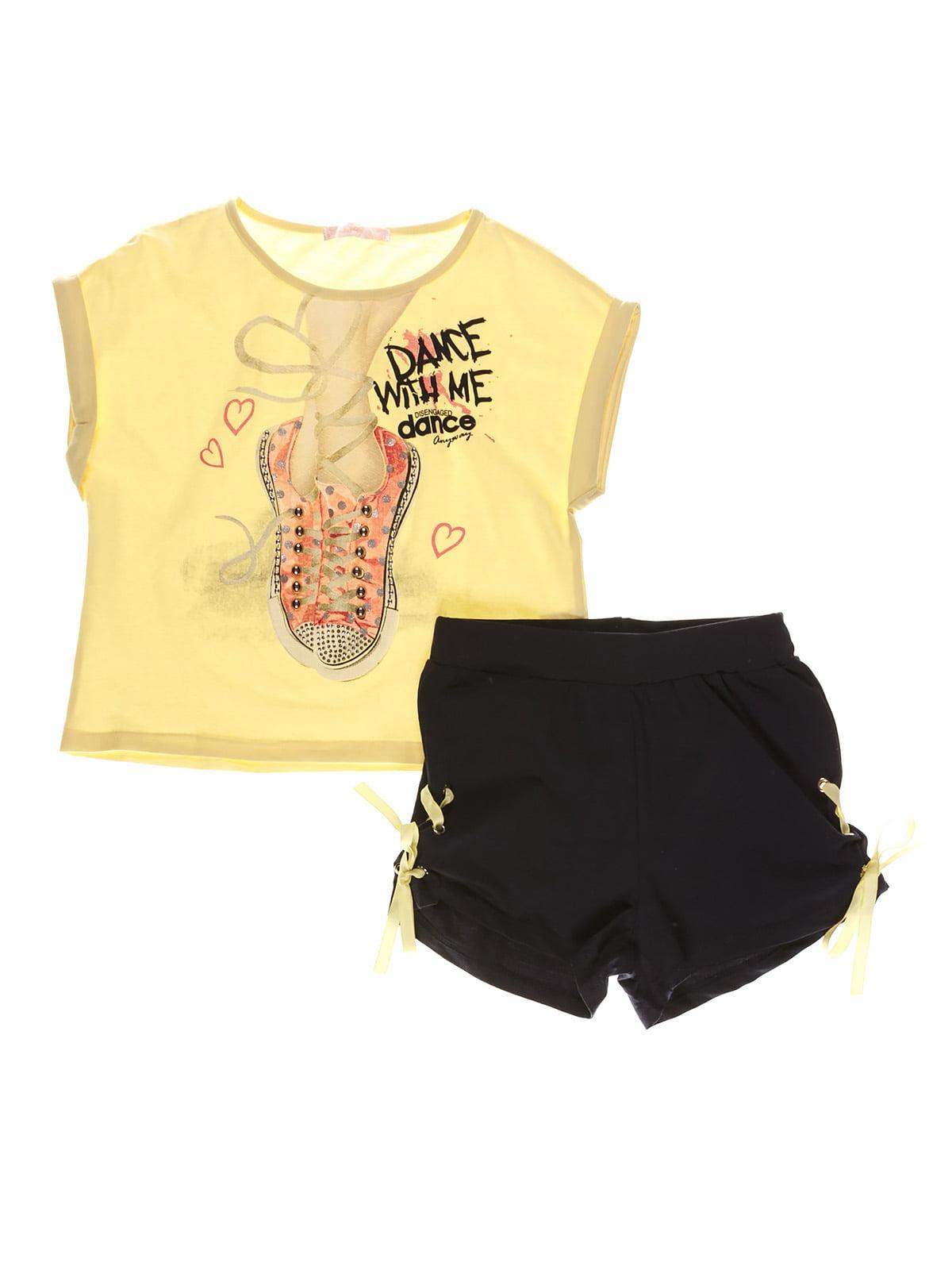 Комплект: футболка и шорты | 4283550
