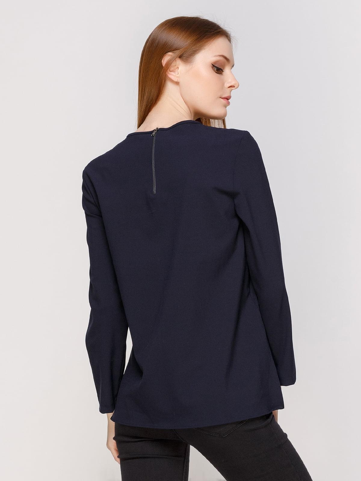 Блуза синяя | 2758645 | фото 2